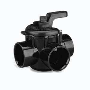 Way 1 1/2 x 2 PVC Plumbing Swimming Pool Spa Diverter Valve 263037