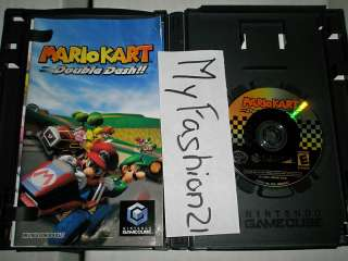 Mario Kart Double Dash Nintendo GameCube Game 045496961282