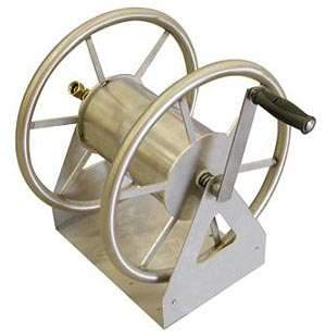 New 3 Way Stainless Steel Garden Hose Reel   200 Ft