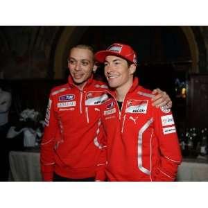 Valentino Rossi Nicky Hayden Wrooom 2011 Moto GP MOTOGP STUNNING