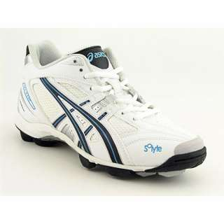 Asics Gel V Cut MT shoes feature a synthetic upper with a round toe
