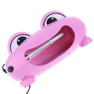 220V EU Pink Frog Nail Art UV Gel Lamp Light Dryer 9W