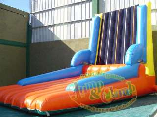 NEW INFLATABLE SPORTS & GAMES   FUN VELCRO WALL W SUITS