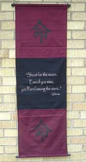 Inspirational Wall Hanging Shoot For The Moon Quote