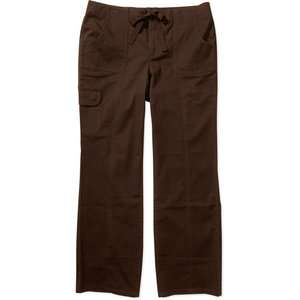Just My Size   Womens Plus Twill Cargo Pants Womens Plus