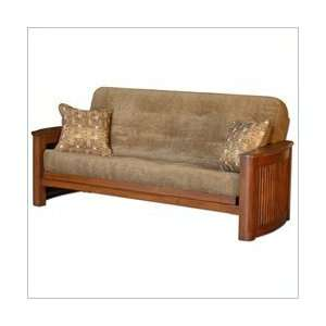 Hawfield Simmons Futons by Big Tree Park Ave Full Size Futon in Oak