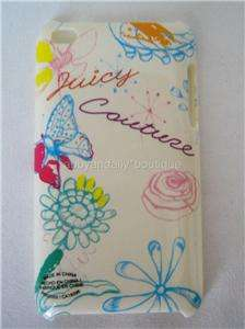 NIB Juicy Couture IPod Touch 4th Generation Cover Case Multi Flower
