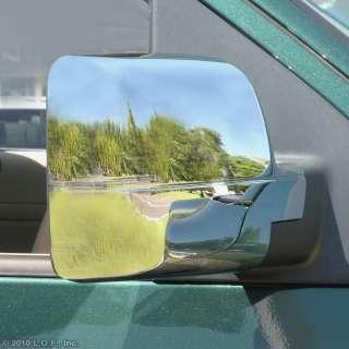 04 08 Ford F150 Chrome Door Full Mirror Cover Trim Kit Pair
