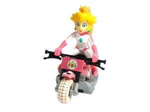 Nintendo Mario Kart Wii Pull Back Racer   Motorcycle Peach