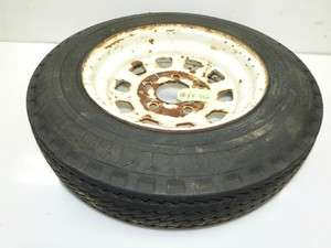 Economy Power King 2418 Tractor 1 Front Tire & Rim