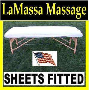 SHEETS FITTED 10 Ea For Massage Table Portable Bed