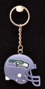 Seattle Seahawks Football Team Logo Helmet Keychain