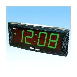1.8 Light Green Number Super Loud Alarm Clock