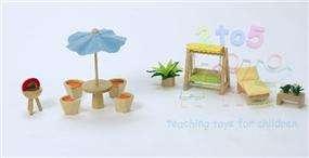 Voila Dolls House Toys~Patio and Garden Furniture Set