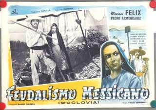 bg97 MACLOVIA MARIA FELIX GREAT orig POSTER ITALY