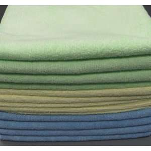 12 Pack Microfiber Cleaning Cloth 16X16 Home & Kitchen