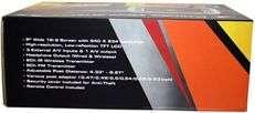 POWER ACOUSTIK HDVD 93GR 9GRAY DVD HEADREST MONITORS