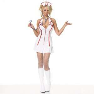 Head Nurse Halter Dress Costume Toys & Games