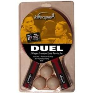 Killerspin Table Tennis Racket Dual Set   2 Paddles 3