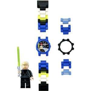 LEGO STAR WARS WATCH W/ LUKE SKYWALKER MINI FIGURE NEW 830659001741