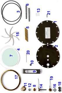 SOLAR Stirling engine self build kit hot air no steam