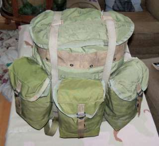 Vietnam Era Jungle Combat TROPICAL RUCKSACK 1968 USA US ARMY Viet Nam