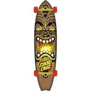 Santa Cruz Skateboard Big Wave Tiki Shark Cruzer  10.4x42