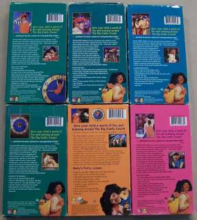 Time Life Kids The Big Comfy Couch Bugs And Hugs Vhs Video Rare Htf