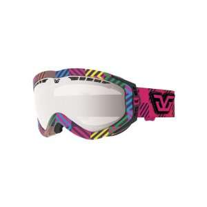 GLC E Frame Goggle (Multi, Green Flash Mirror): Sports & Outdoors