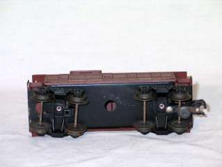 Old Vintage Lionel Lines Brown Caboose Train Car 6017   Very Nice