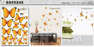 Modern Flowers Tree Wall Stickers Vinyl Decals Home Decor   BUY 1 GET
