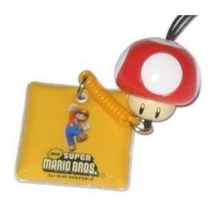 Nintendo Super Mario Bros. Red Mushroom Mario Charm